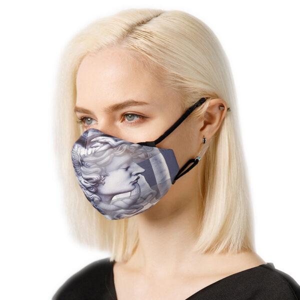 Respirační maska s antickými motivy